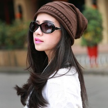 1 pcs Fashion Unisex Elegance Style Baggy Beanie Cotton Hat Thicken Skull warm General Hats For Men and Women
