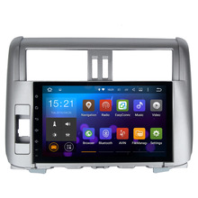 Android 5.1.1 2 Din Car GPS for Toyota Prado 150 2010-2013 with Mirror LIink No DVD  WIFI 3G auto radio No Disc