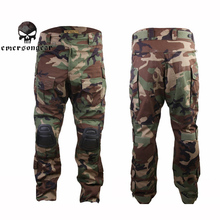 Emerson G3 Tactical Pants Combat Integrated Training Pants Knee Pads Airsoft Military Hunting Trousers Paintball Clothes(China)