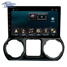 NaviTopia 10.1inch 1024*600 32G 2GB RAM Quad Core/Octa Core Android 6.0 Car DVD Radio for JEEP Wrangler 2015 2016 with GPS/maps(China)