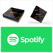 H96 MAX+ Android 7.1 With 1 year Spotify Premium Subscription Account Work on all Device Set Top Box Media Player(China)