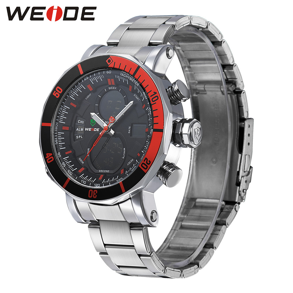 WEIDE Alarm New Luxury Brand Men Sports Diver Watch Multiple Time Zone Back Light  Fashion Casual Wristwatches  WH5203<br><br>Aliexpress