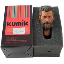 TopToys 1/6 Scale accessories Head Sculpt KUMIK 16-55 Model Wolverine Male Banding Fit 12 Inch Phicen hot toys for children(China)