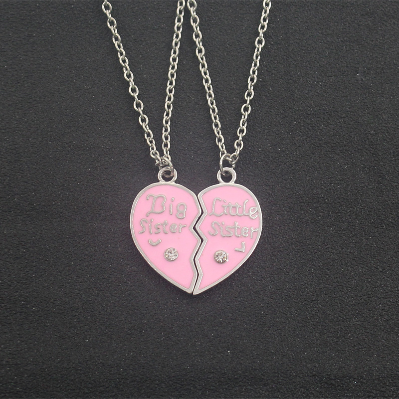 BFF Necklaces (several styles) sister pink heart