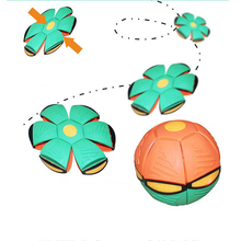 Throw Disc Ball Toy Flying UFO Flat toy Flying UFO Flat Throw Disc Ball Toy Kid Outdoor Garden Beach Game Fancy Soft Novelty