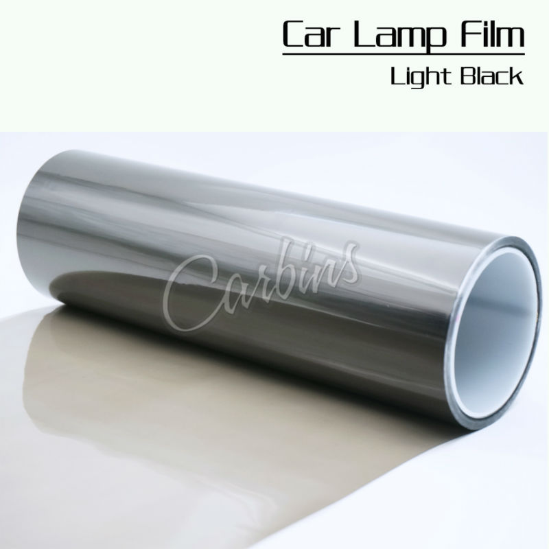 one roll 0.3*10m  Smoke headlight tint film car car lights protection, free shipping!<br>