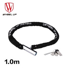 Wheel Up Unique Anti-Theft Magnetic Card Key Steel Chain Bicycle Lock Anti-hydraulic MTB Road Bike Motorcycle Stable Bike Lock