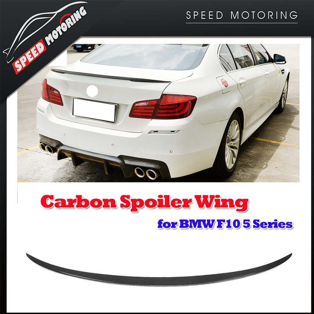 F10 Carbon Fiber M Performance Rear Spoiler Wing for BMW F10 520 525 528 530 535 550 518d 2012 2013 2014 2015 2016<br><br>Aliexpress