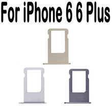 Nano SIM Card Holder Tray Slot for iphone 6 Plus 6P Replacement Part SIM Card Card Holder Adapter Socket Apple Accessories Tools