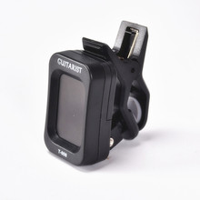 Digital Electric Acoustic Tuning Guitar Tuner Clip Violin Bass Ukulele Tuner For Guitar Accessories Musical Instruments