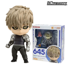 "One Punch Man Genos Super Movable Edltion 645 PVC Action Figure Collectible Model Christmas Gift 4""10cm(China)"