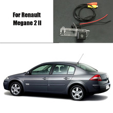 Thehotcakes Car Rear View Camera For Renault Megane 2 II / Reverse Camera / HD CCD RCA NTST PAL / License Plate Light OEM