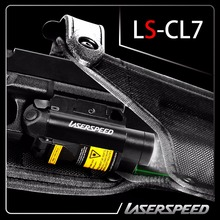 New design Rifle&Pistol LED light and green laser sight combo with pressure switch function(China)