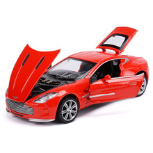 1:32 Sound and Light Racing Model cars toy Pull Back acousto-optic Alloy toys car for children High Simulation(China)
