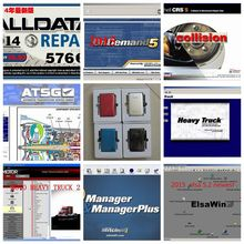 2017 New released Alldata and mitchell software all data auto repair software with Vivid workshop data car software in 1tb hdd
