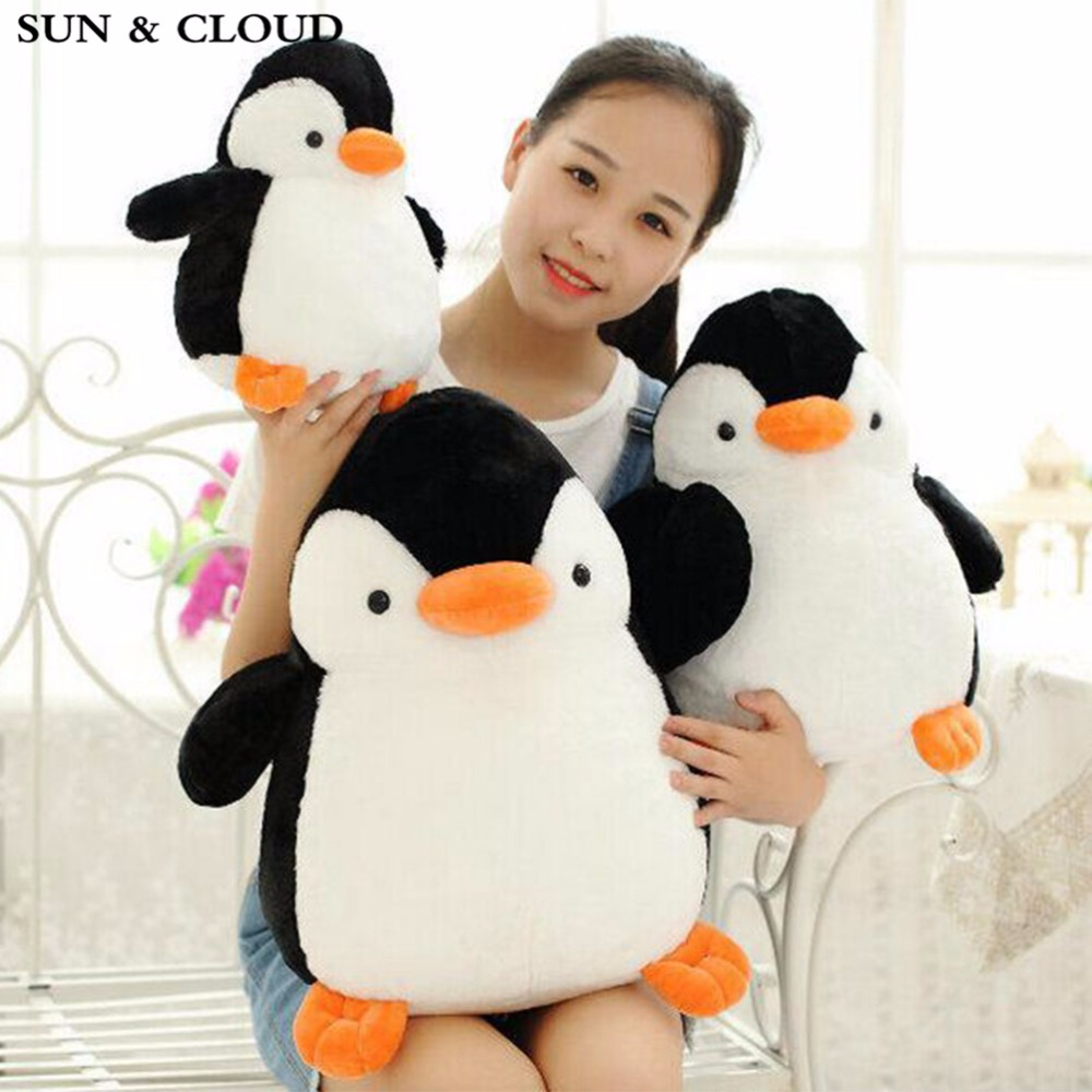 SUN & CLOUD Plush Toys Penguin Doll Cute Birthday Festivalbest Gift Soft Doll Toy(China (Mainland))