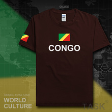 Congo Republic mens t shirt 2017 jerseys nation tshirt team cotton t-shirt gyms clothing tees country sporting COG Congolese