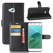 Buy CASEISHERE Luxury Leather Flip Case ASUS Zenfone 4 Selfie ZD553KL ZB553KL phone Wallet Stand Cover Card Holder for $3.72 in AliExpress store