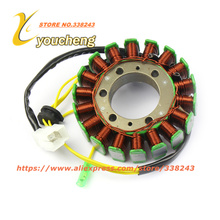 18 Pole Stator Motorcycle Magnetor Coil Water cooled CH250 CF250 ATV Engine Parts Pick Up Trigger XQ-CF250