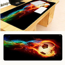 Mairuige Free Shipping Playground Football Starry Background Game Mouse Pad Large Mouse Pad Cheap Computer Mouse PC Laptop(China)