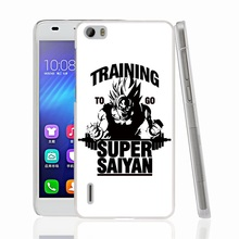 22472 Training to go Super Saiyan Dragon ball Z Cover phone Case for sony xperia z2 z3 z4 z5 mini plus aqua M4 M5 E4 E5 C4 C5