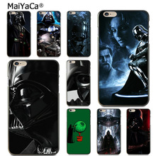 Buy MaiYaCa Darth Vader Star Wars Luxury Hybrid phone case Apple iPhone 8 7 6 6S Plus X 5 5S SE 5C case shell for $1.45 in AliExpress store