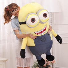 Free Shipping Big Size 30cm 3D Despicable ME Very Big Movie Plush Toy 30CM Minions Toys & Hobbies One PCS FOR birthday gift