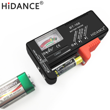 HiDANCE battery tester capacity aa aaa 1.5v 9v power supply check meter dc electronic load resistor discharger indicator test(China)