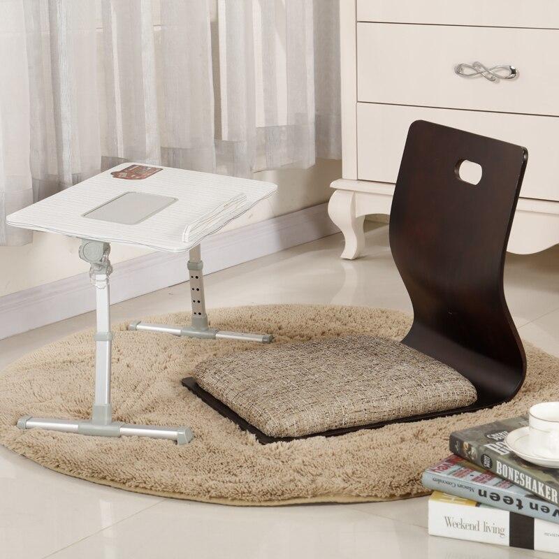 (2pcs/lot) Japanese Chair Design Home Living Room Furniture Kotatsu Table Chair Tatami Zaisu LegLess Floor Chair Black Finish<br>