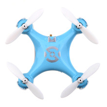 CX10 Mini Drone 2.4G 4CH 6 Axis  RC Quadcopter  Helicoptero with LED light Toys for Children(China)
