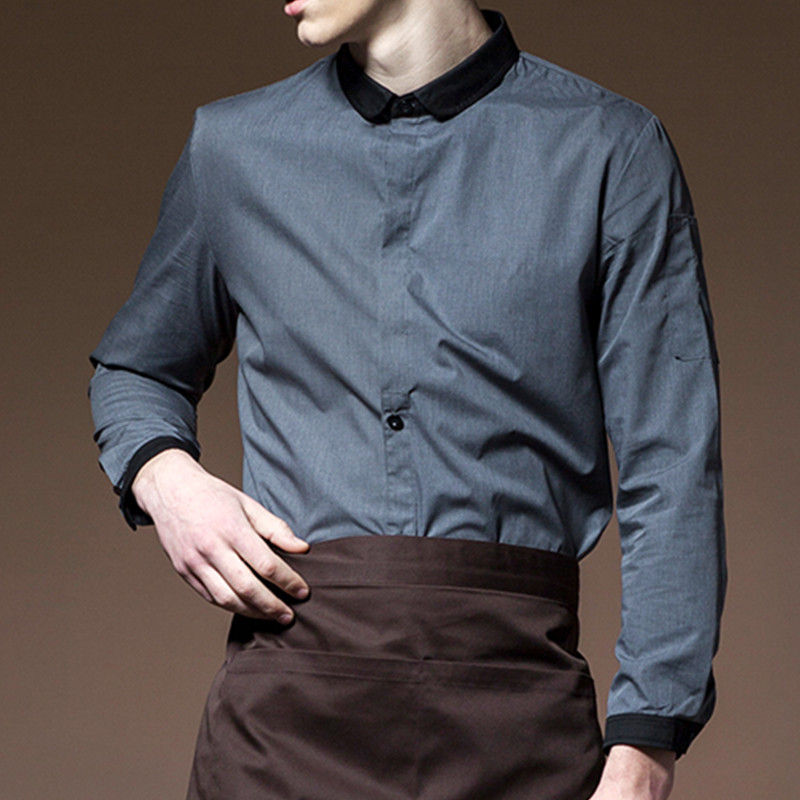 Long Sleeve Hospitality Work Wear D84-6