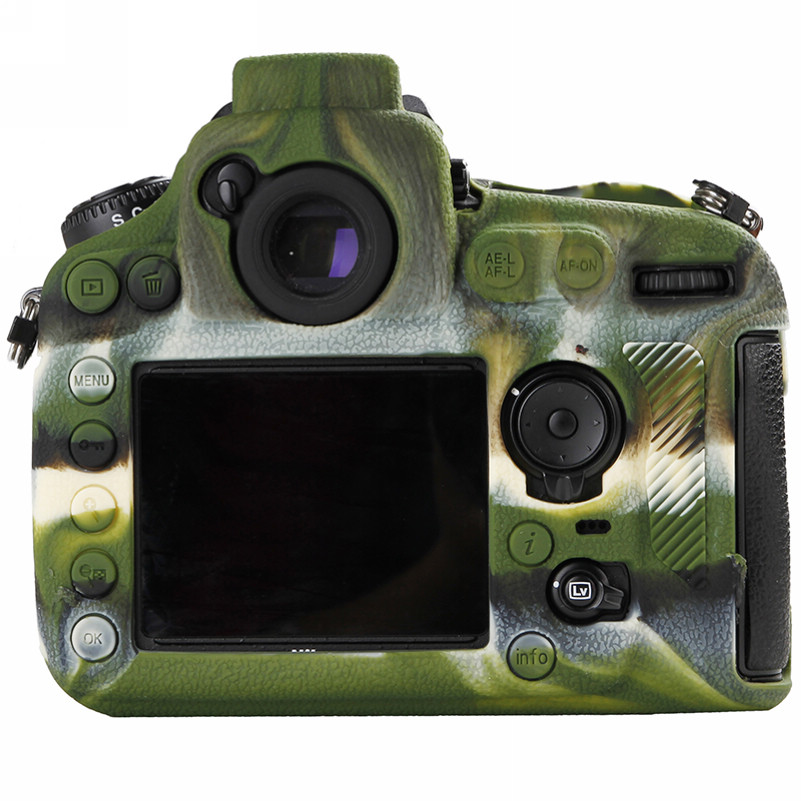 Soft Silicone Rubber Camera Bag For Nikon D810 D800 D850 Protective Body Case Skin DSLR Camera Rubber Cover Bag (10)