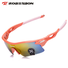 Buy ROBESBON Cycling Glasses Outdoor Sport MTB Bike Glasses Motorcycle Sunglasses Bicycle Goggles Eyewear Oculos Ciclismo for $4.18 in AliExpress store