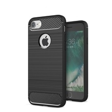 Buy Carbon Fiber Shockproof Phone Case Coque Iphone 8 Anti-Knock Dirt-resistant Soft TPU Silicone Back Cover Case Iphone 8 for $4.92 in AliExpress store