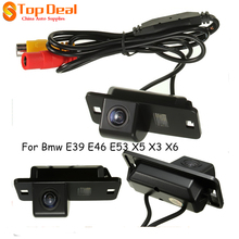 New Arrival Car 170 Degrees Reversing Camera Rear View Cam CCD for BMW 3/7/5 Series E39 E46 E53