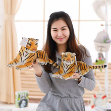 1pcs 25cm/30cm Small cute plush tiger toys lovely stuffed doll Animal pillow Children Kids birthday gift