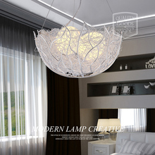 A1 Creative personality hanging lamp bar living room bird's nest modern minimalist restaurant master bedroom Pendant Lights