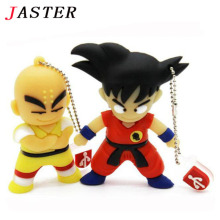 JASTER pen drive cartoon Dragon Ball Goku Monkey King gift 4gb 8gb 16gb 32gb usb flash drive prawn pendrive Free shipping