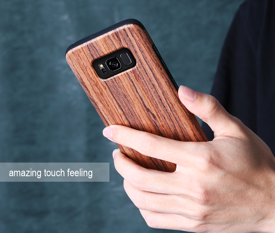 wood pattern soft tpu case for samsung s8 s8 plus (13)