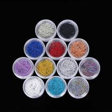 TOMTOSH 12 Colors Nail Wire Wire UV Gel 3D Gel Nail Decorative Decoration(China)