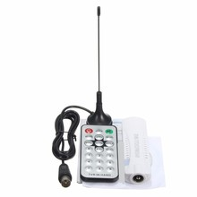 Digital DVB-T2/T DVB-C USB2.0 TV Tuner Stick HDTV Receiver with Antenna Remote Control HD USB Dongle PC/Laptop for Windows