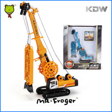 Mr.Froger Trenching Machine Model alloy car model Refined metal Engineering Construction vehicles truck Decoration Classic Toys