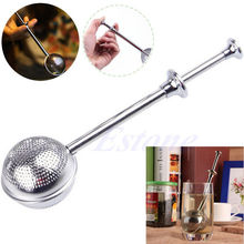 Stainless Steel Locking Spice Tea Ball Strainer Mesh Infuser tea strainer Filter infusor(China)