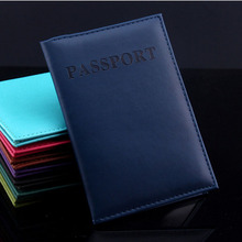 2017 Artificial Leather Passport Holder Couple Models Women's Travel Passport Cover Unisex Card Case Man Card Holder 1PCS