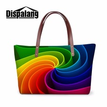 Dispalang Unique Design Women Nice Handbag Storage Girls Fashion Totes Bags Female Hand Bag Organized Casual Bolsa Shopping Bags
