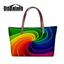 Dispalang Unique Design Women Nice Handbag Storage Girls Fashion Totes Bags Female Hand Bag Organized Casual Bolsa Shopping Bags(China)