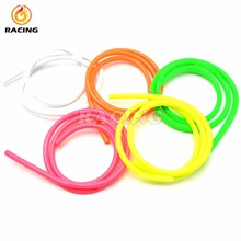 moto Fuel Line Material Rubber new 1M Motorcycle Dirt Bike Fuel Gas Oil Delivery Tube Hose Line Petrol Pipe 5mm I/D 8mm O/D 2016