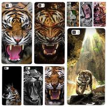 Hot Sale Tiger Angry tigers Clear Case Cover Coque Shell for Huawei P10 P9 P8 Lite Mate S 7 8 9 10 Plus