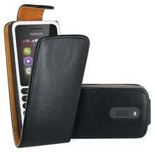 Case For Nokia 130 , Premium Leather Flip Book Case Cover For Nokia 130 / Nokia 130 Dual Sim (black)
