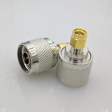 Free shipping N-Type N Male Plug to SMA Male RF Coaxial Adapter Connector